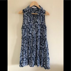 Love Tree Happens beautiful blue dress/tunic